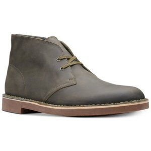 Clarks Men's Bushacre Oily Leather Chukka Boot 8.5